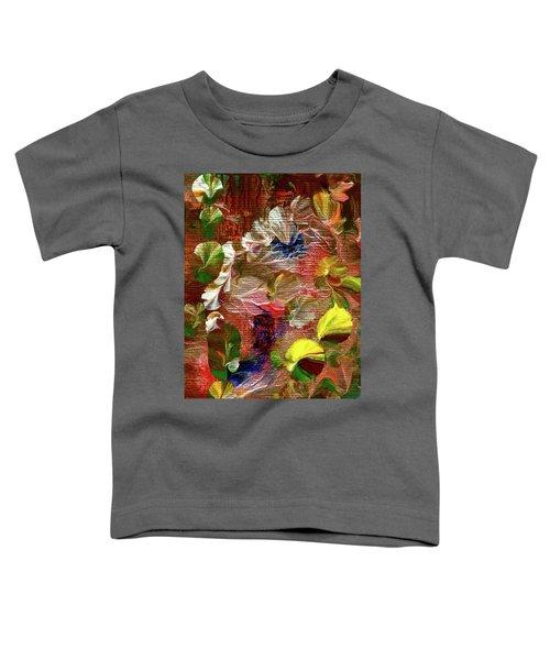 Blue Butterfly Jungle Toddler T-Shirt