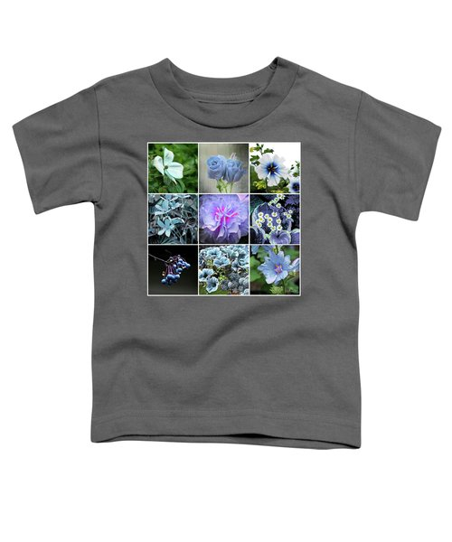 Blue Flowers All Toddler T-Shirt