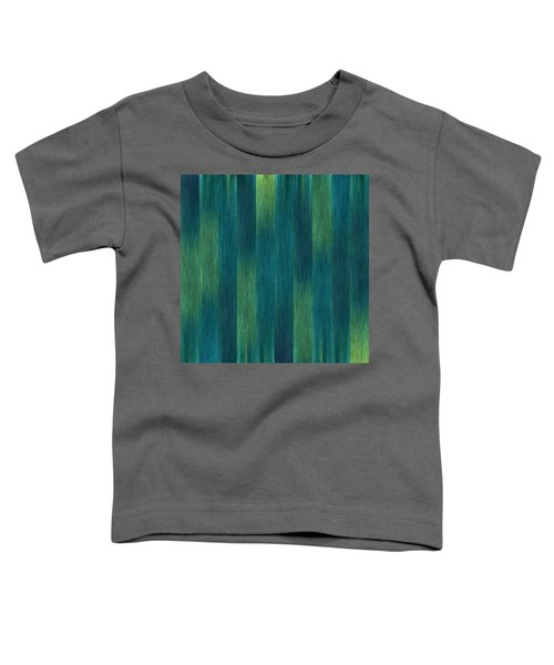 Blue Green Abstract 1 Toddler T-Shirt