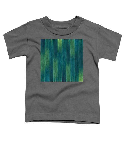 Blue Green Abstract 1 Toddler T-Shirt