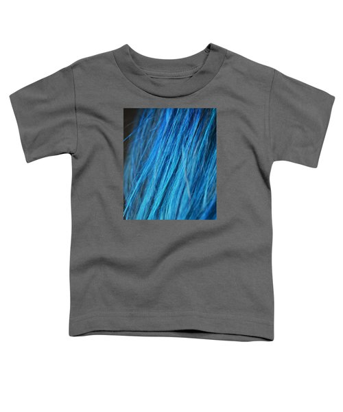 Blue Hair Toddler T-Shirt