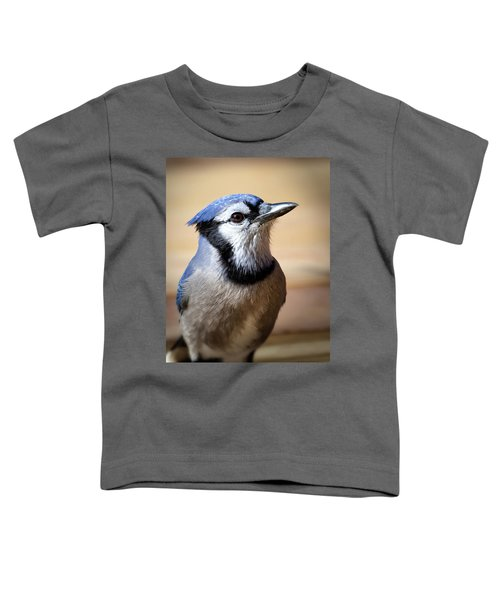 Blue Jay Portrait Toddler T-Shirt
