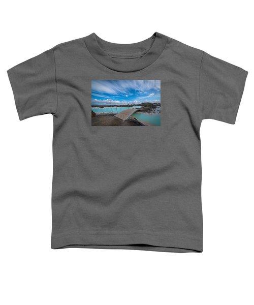 Blue Lagoon Bridge Toddler T-Shirt