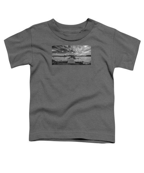 Blue Lagoon Bw  Toddler T-Shirt
