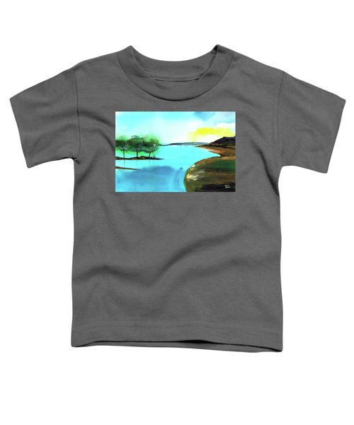 Blue Lake Toddler T-Shirt