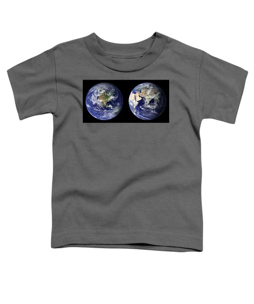 Blue Marble Toddler T-Shirt