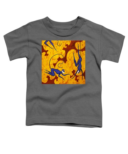 Blue Monkeys No. 45 Toddler T-Shirt
