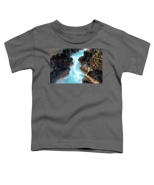 Blue Path Toddler T-Shirt