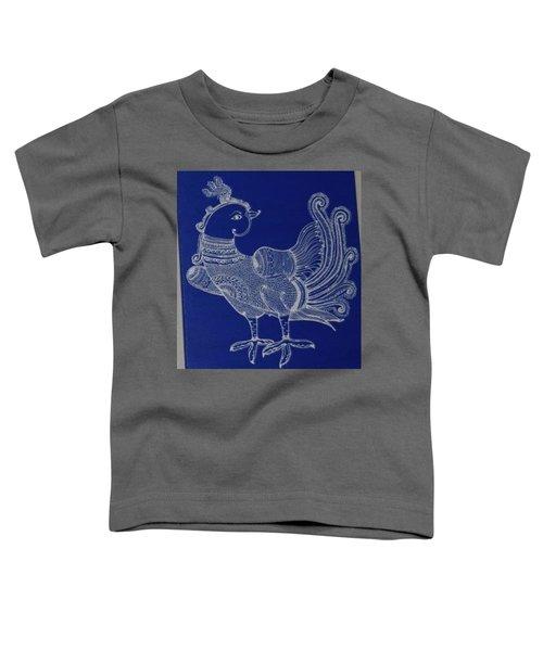 Mayur - Blue Toddler T-Shirt
