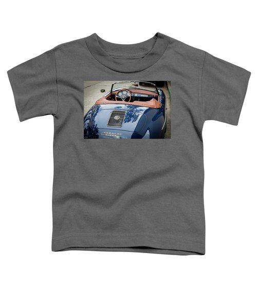 Blue Porche 356 Toddler T-Shirt