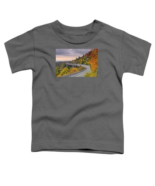 Lynn Cove Viaduct-blue Ridge Parkway  Toddler T-Shirt