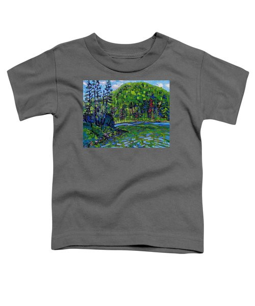 Blue Sky Greens Toddler T-Shirt