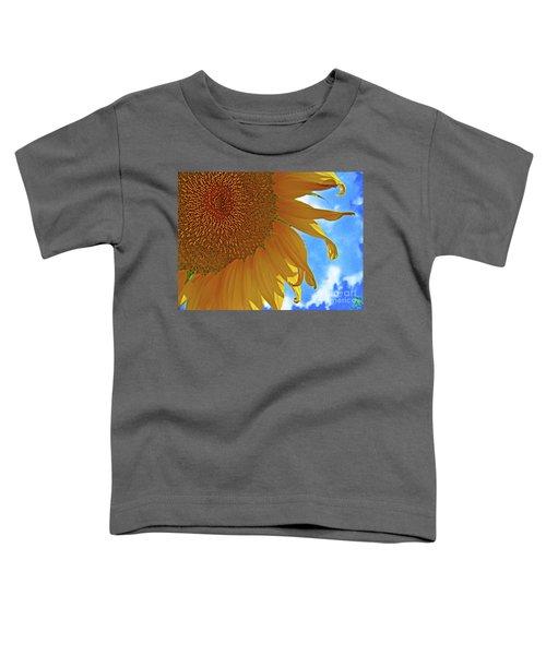 Blue Sky Sunflower Toddler T-Shirt