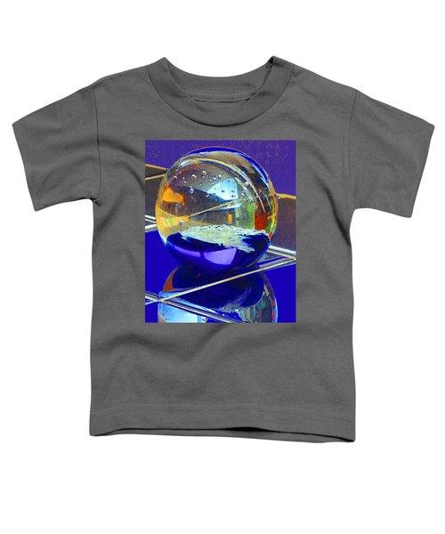 Blue Sphere Toddler T-Shirt