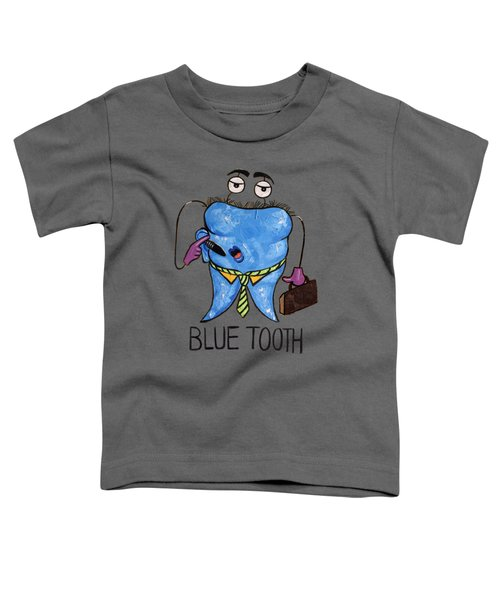 Blue Tooth Toddler T-Shirt