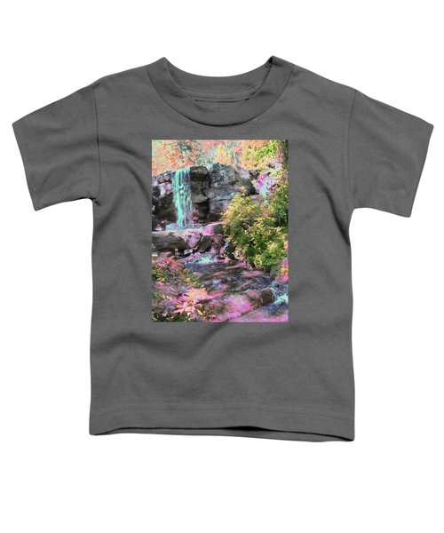 Blue Waterfall Toddler T-Shirt