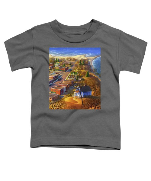 Blueberry Cottage Hill  Toddler T-Shirt