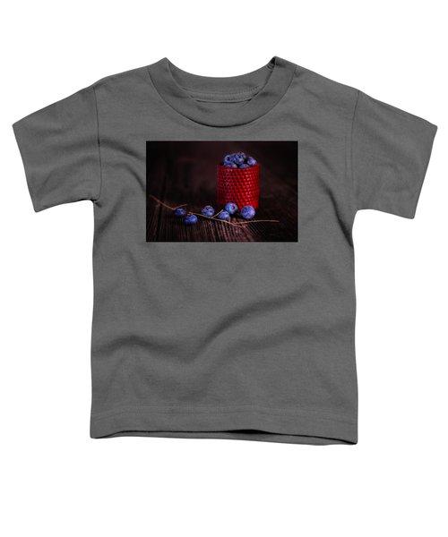 Blueberry Delight Toddler T-Shirt by Tom Mc Nemar