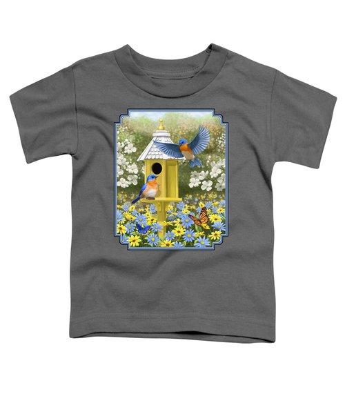 Bluebird Garden Home Toddler T-Shirt