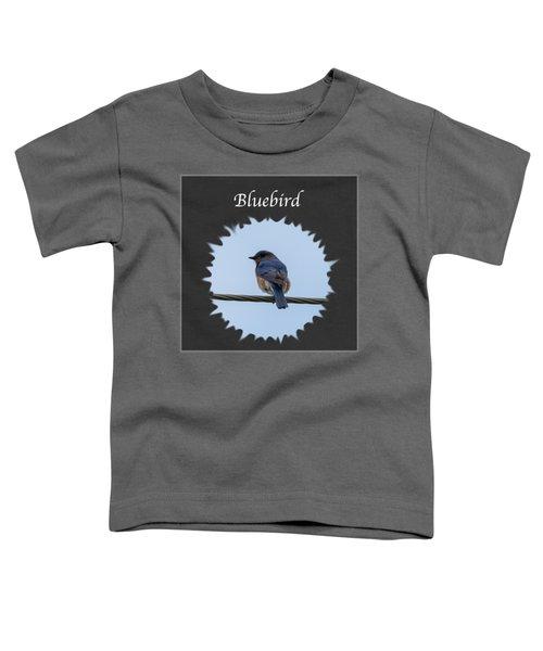 Bluebird Toddler T-Shirt by Jan M Holden