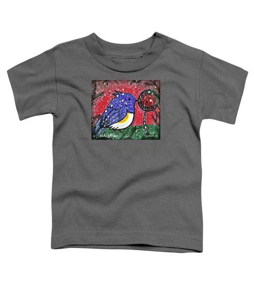 Bluebird Of The Season Toddler T-Shirt