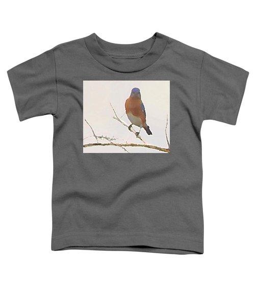 Bluebird Stare  Toddler T-Shirt
