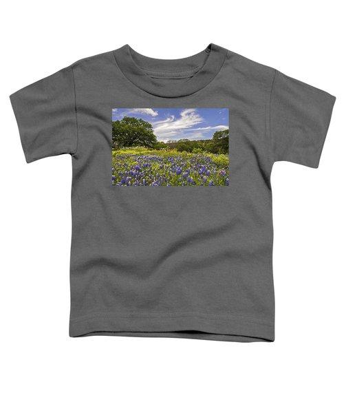 Bluebonnet Spring Toddler T-Shirt