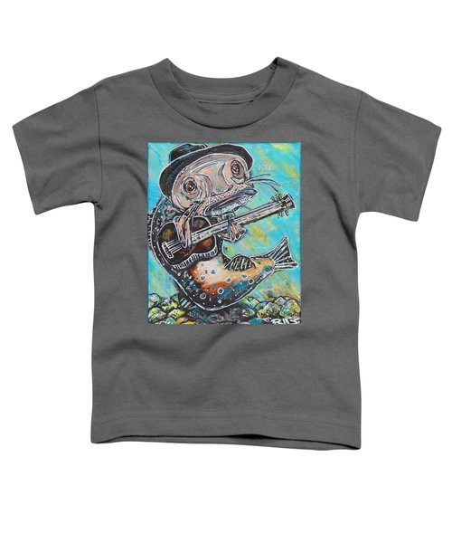 Blues Cat Revisited Toddler T-Shirt