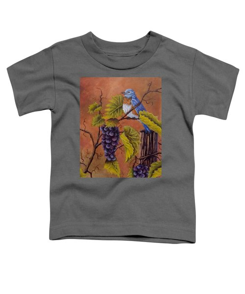 Bluey And The Grape Vine Toddler T-Shirt