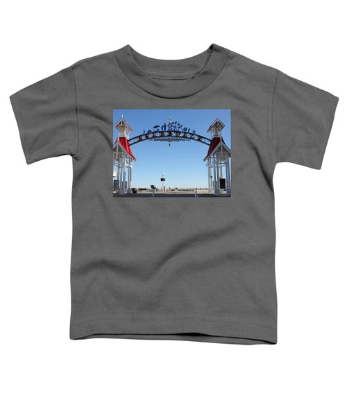 Boardwalk Arch At N Division St Toddler T-Shirt