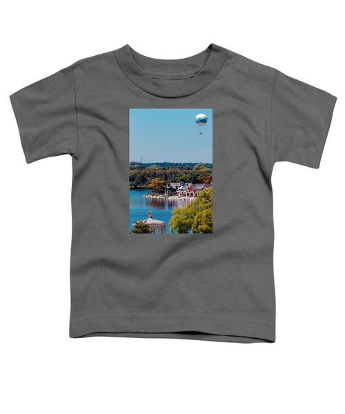 Boat House Row Toddler T-Shirt