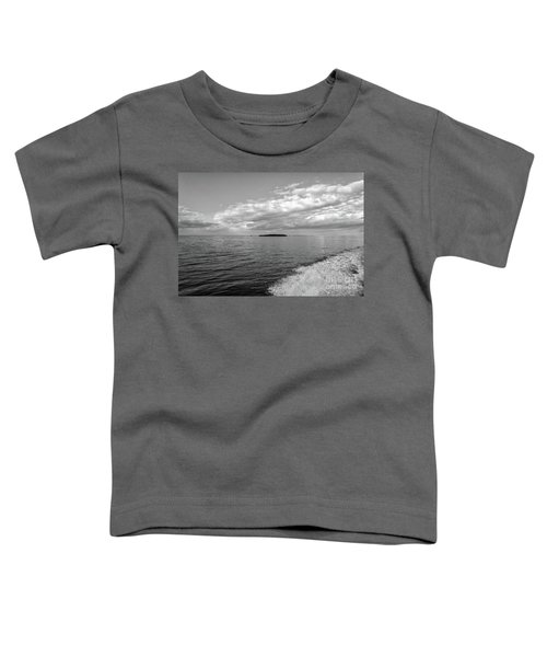 Boat Wake On Florida Bay Toddler T-Shirt