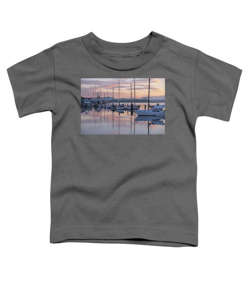 Boats In Pastel Toddler T-Shirt