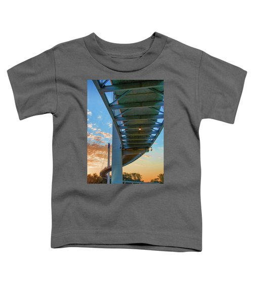 Bob Kerry Bridge At Sunrise-2 Toddler T-Shirt