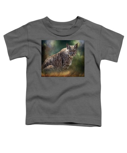 Bobcat Gaze Toddler T-Shirt