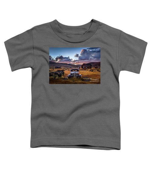 Bodie's 1937 Chevy At Sunset Toddler T-Shirt