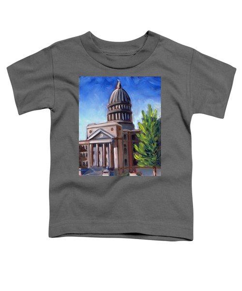Boise Capitol Building 01 Toddler T-Shirt