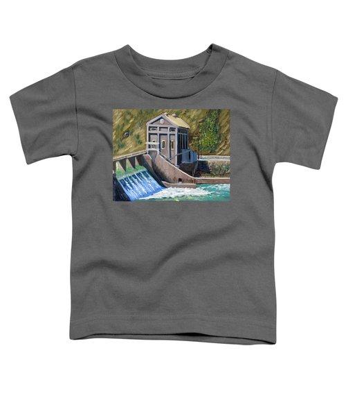 Boise Diversion Dam Toddler T-Shirt