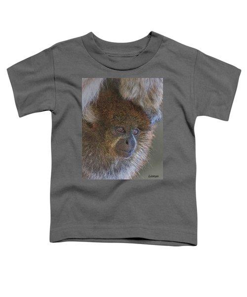 Bolivian Grey Titi Monkey Toddler T-Shirt