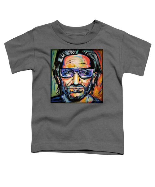 Bono Toddler T-Shirt by Amy Belonio