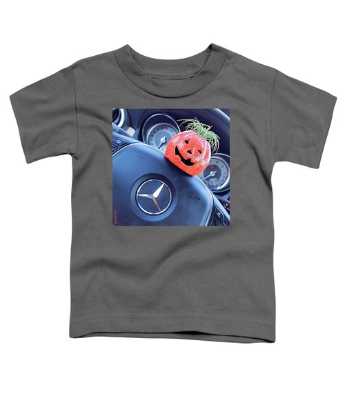 #boo! My #car Is Getting Excited About Toddler T-Shirt