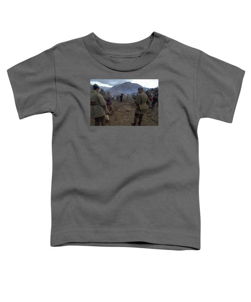 Toddler T-Shirt featuring the photograph Border Control by Travel Pics