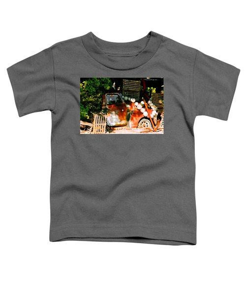 B.o.'s Fish Wagon In Key West Toddler T-Shirt
