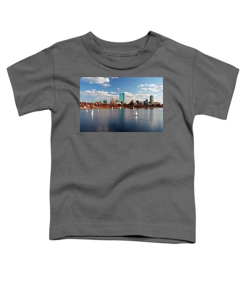 Boston On The Charles  Toddler T-Shirt