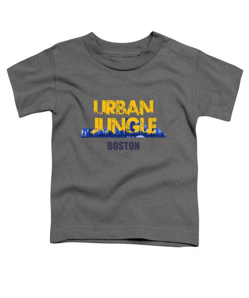 Boston Urban Jungle Shirt Toddler T-Shirt by Joe Hamilton