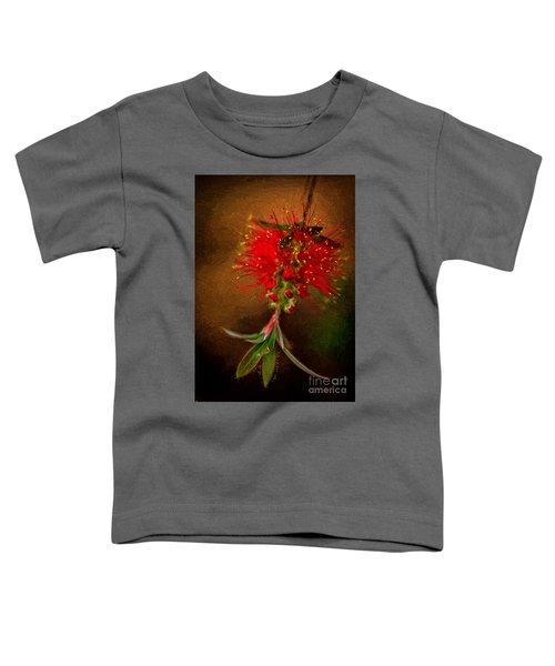 Bottle Brush Flower Toddler T-Shirt