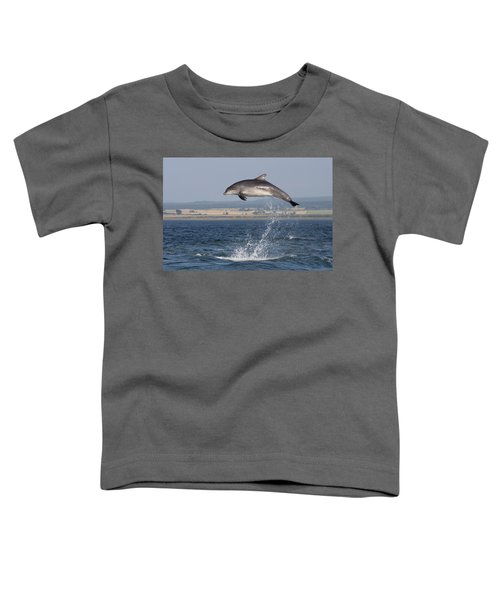 High Jump - Bottlenose Dolphin  - Scotland #42 Toddler T-Shirt