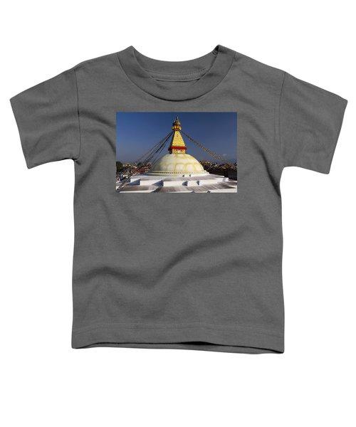 Boudhanath Stupa Toddler T-Shirt