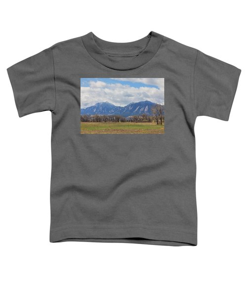 Toddler T-Shirt featuring the photograph Boulder Colorado Prairie Dog View  by James BO Insogna