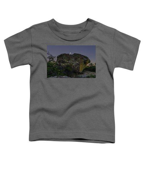 Boulder Moonrise Toddler T-Shirt